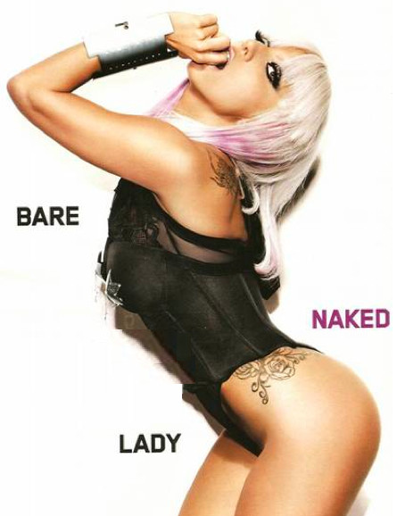 Lady Gaga Maxim Photo