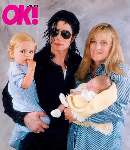 Michael Jackson, Debbie Rowe, Prince Michael, Paris