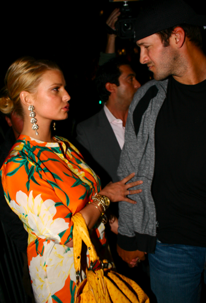 A Jessica Simpson and Tony Romo Picture