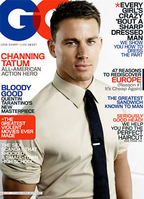Channing Tatum GQ Cover
