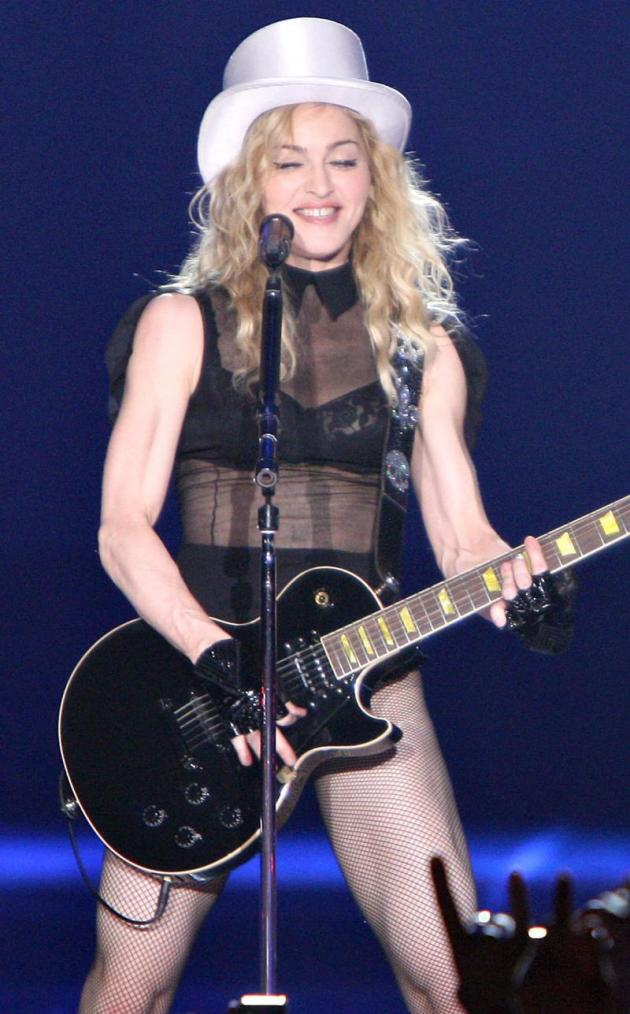 Ripped Madonna Pic