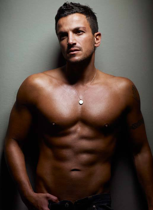 Peter Andre Shirtless