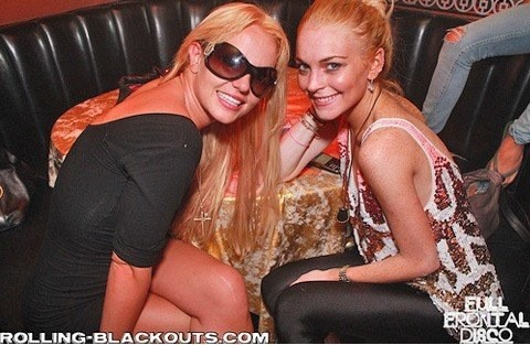 Lindsay Lohan and Britney Spears