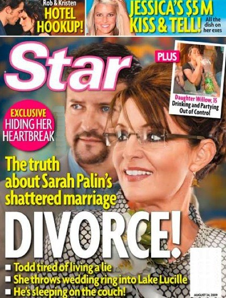 Sarah Palin Divorce!