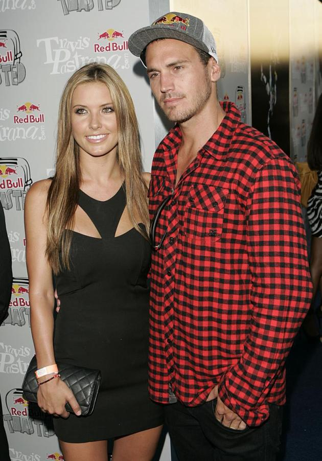 Audrina Patridge with Boyfriend Corey Bohan