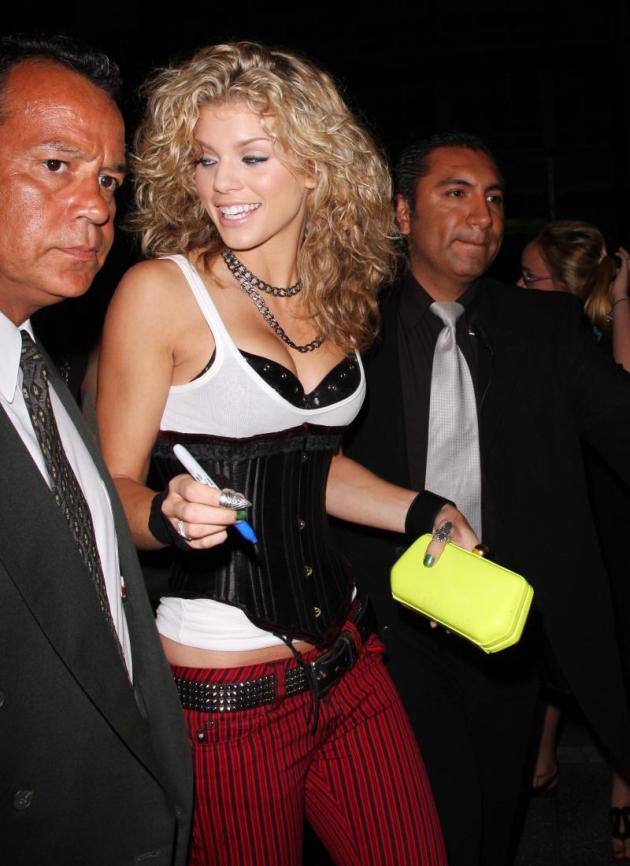 AnnaLynne McCord Fashion Choice