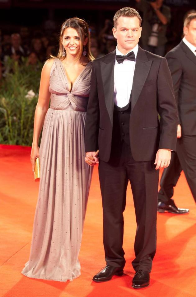 Matt Damon, Wife