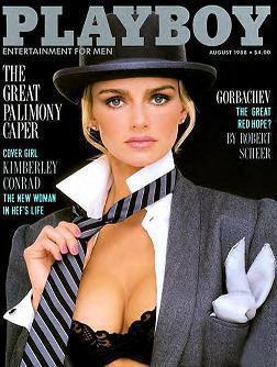 Kimberley Conrad, Playboy