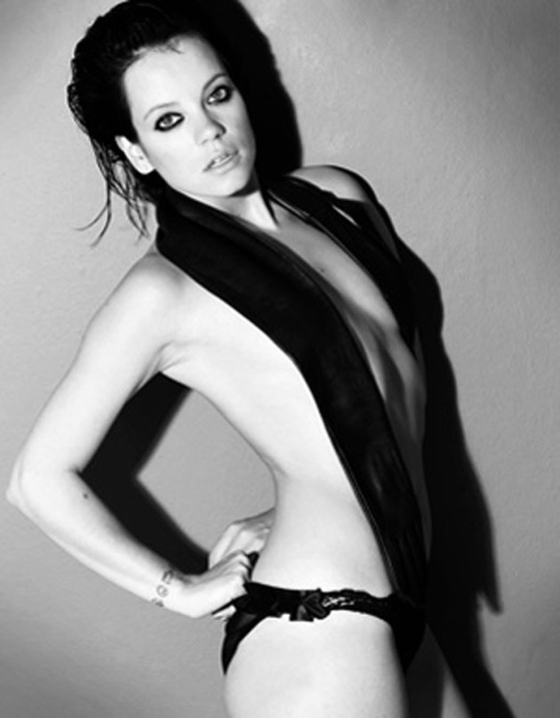 Lily Allen GQ Pic