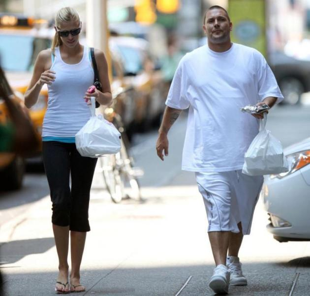Fat Kevin Federline and Victoria Prince