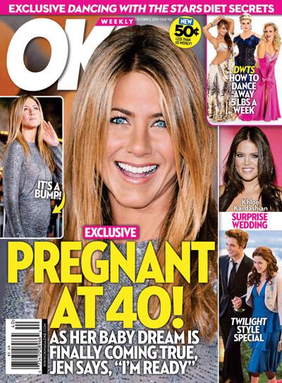 Jennifer Aniston: Pregnant at 40!