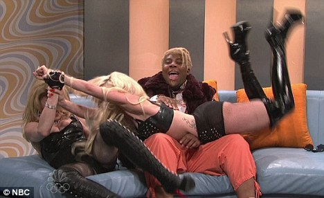 Madonna-Lady Gaga Fight!