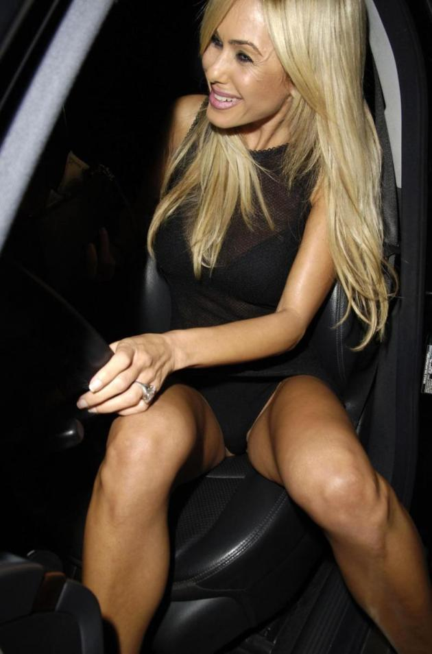 Shauna Sand Crotch Shot