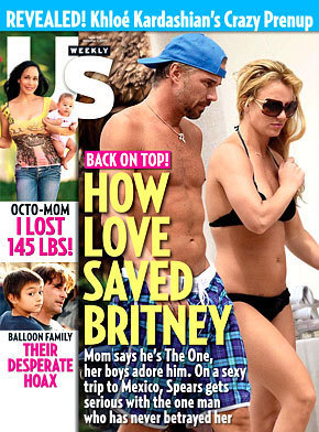 Britney Spears, Jason Trawick Cover