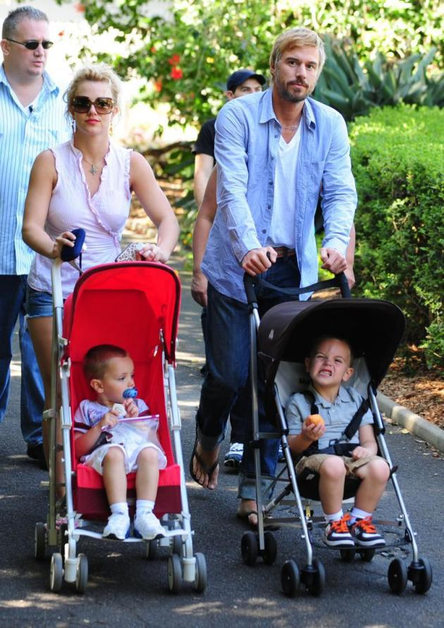 Britney Spears and Family