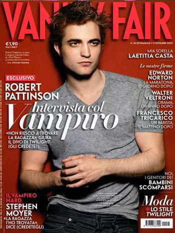 Italian Vanity Fair Cover