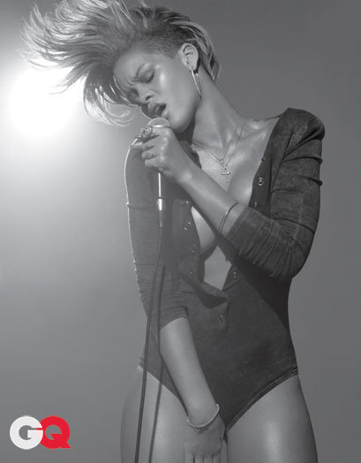 Black & White Rihanna