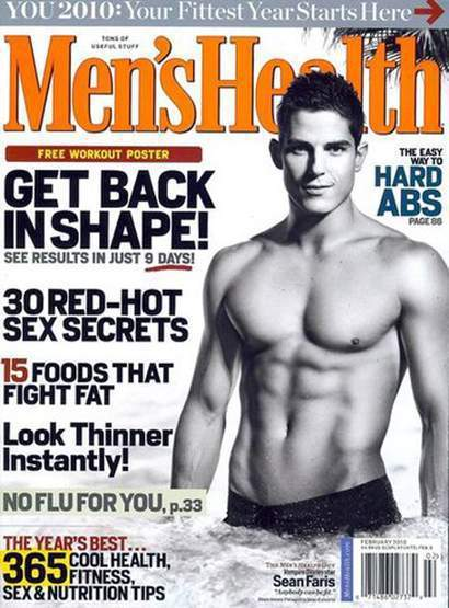 Men's Fitness Cover