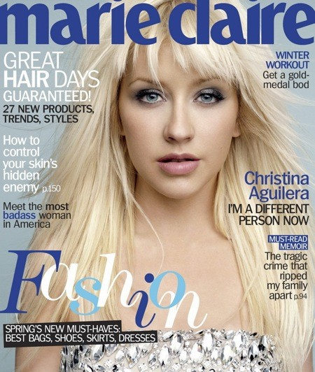 Marie Claire Cover Girl