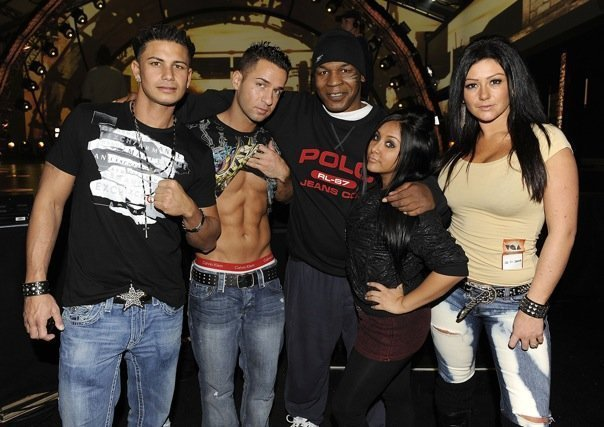 Jersey Shore Cast and Mike Tyson