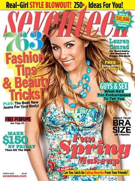 Lauren Conrad 17 Cover