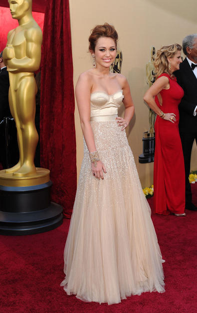 Miley at the Oscars
