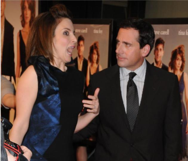 Steve Carell and Tina Fey Photo