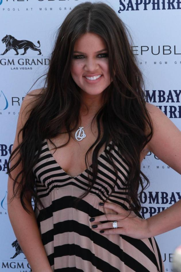 Khloe on the Red Carpet