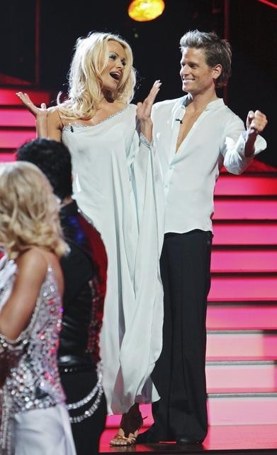 Damian Whitewood, Pamela Anderson Pic