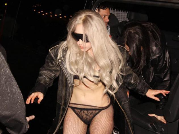 Gaga Steps Out