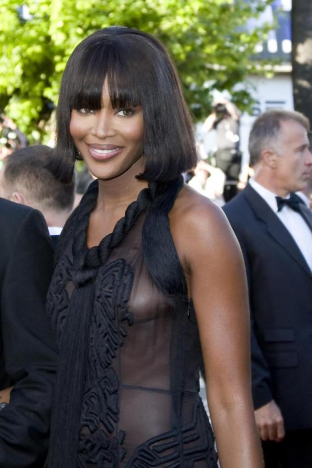 Campbell in Cannes