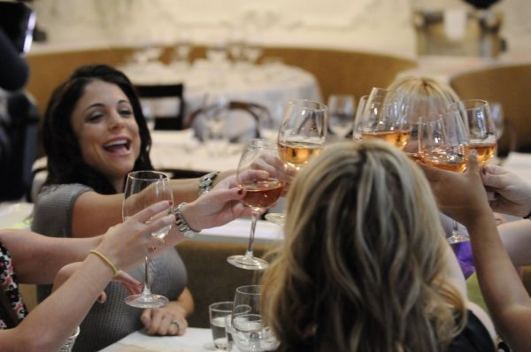 Cheers to Bethenny!