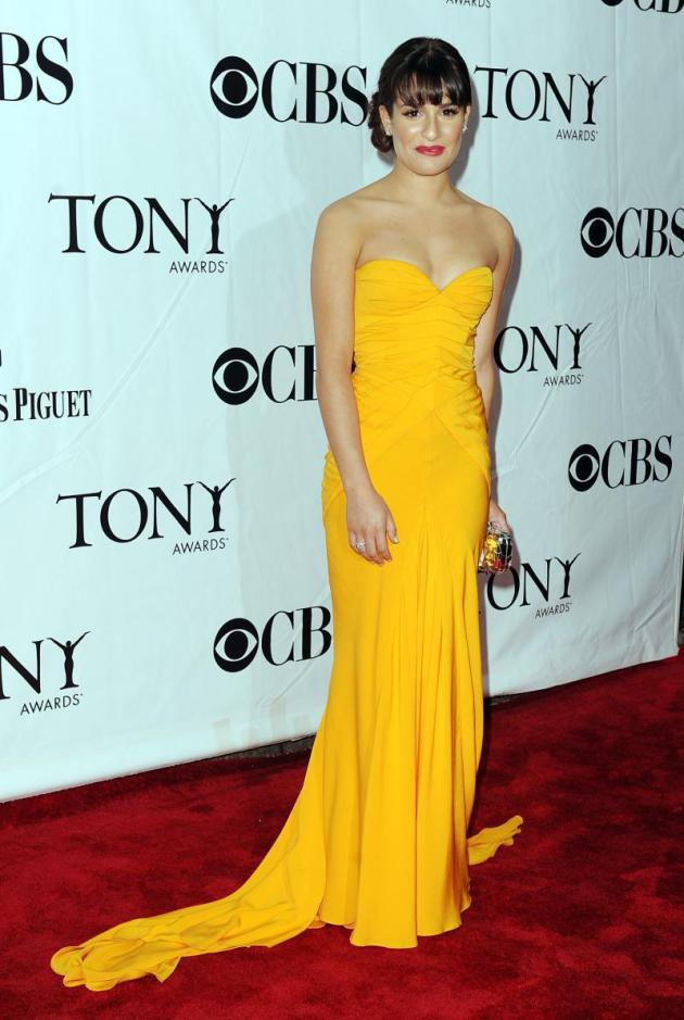 Lea at the Tonys