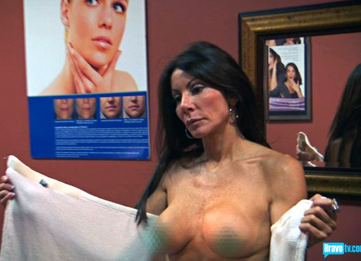 Danielle Staub Shirtless
