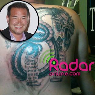 Jon Gosselin Tattoo