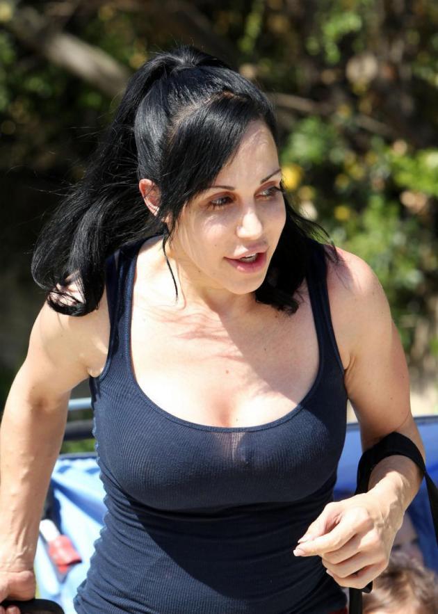 Nadya Suleman, Huge Breasts