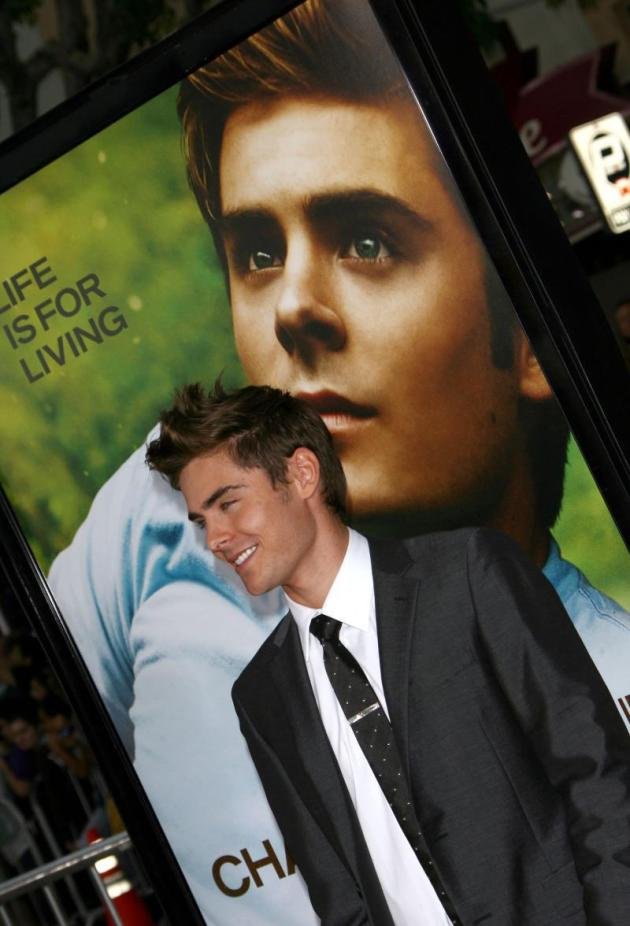 His Movie Premiere