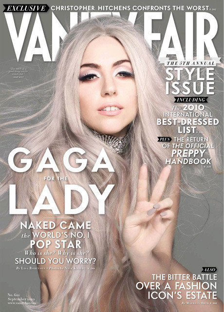 Lady Gaga in Vanity Fair