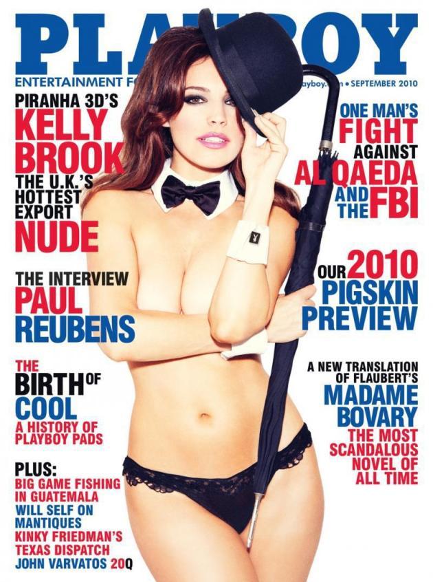 Kelly Brook on Playboy