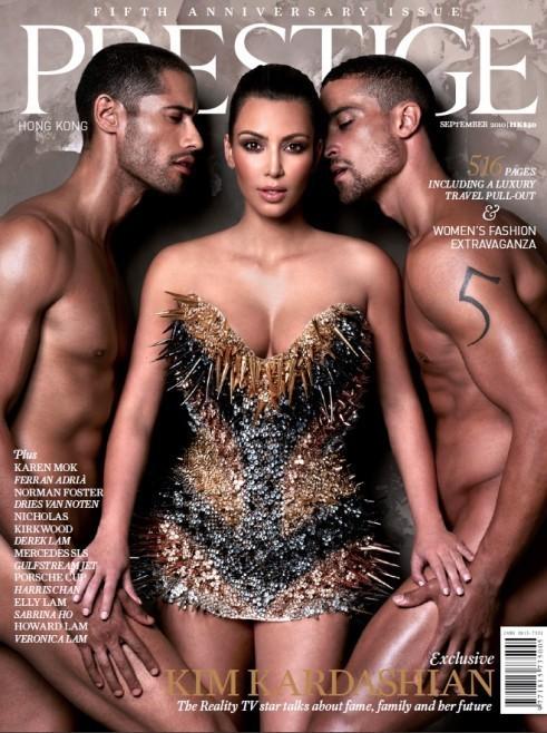 Kim Kardashian, Nude Men