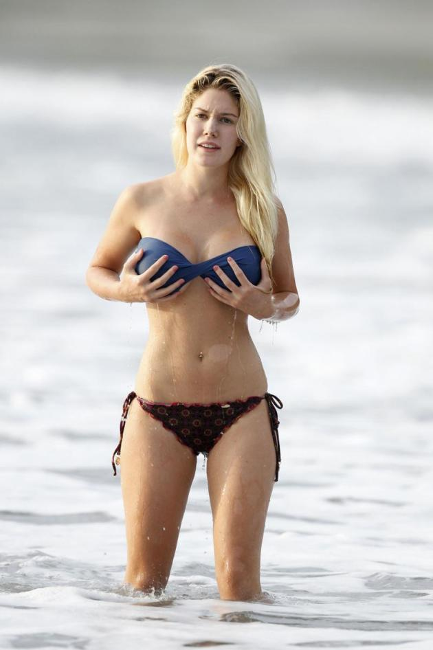 Heidi Montag, Fake Breasts