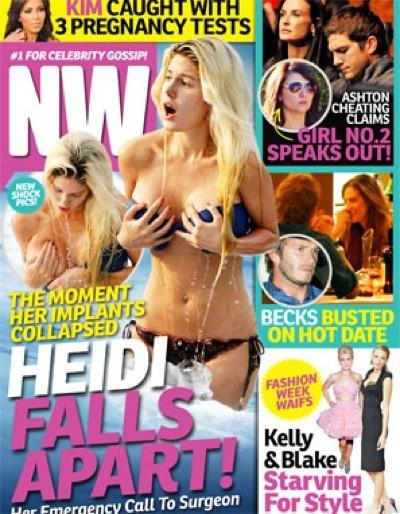 Heidi Montag Falls Apart