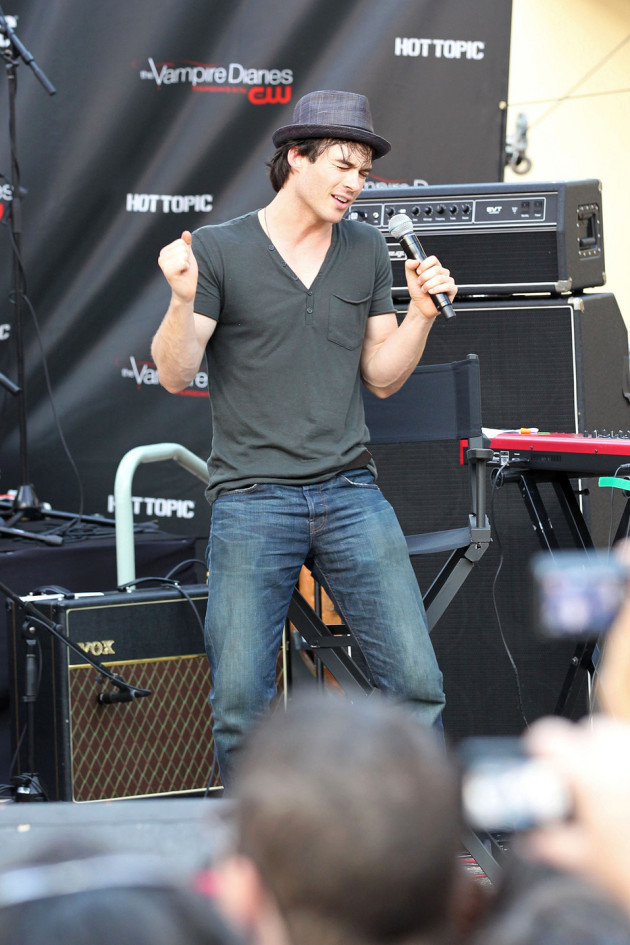 Somerhalder on Stage