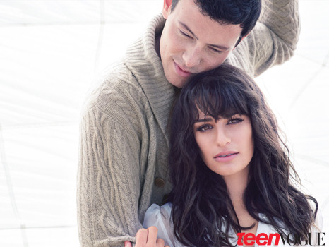 Glee in Teen Vogue