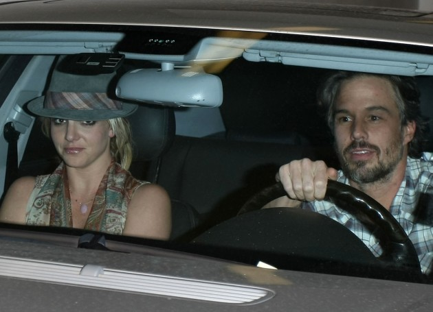 Britney Spears and Jason Trawick Together