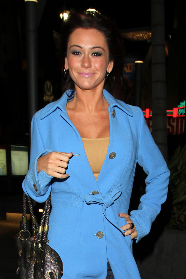 JWoww Cleans Up Nice!