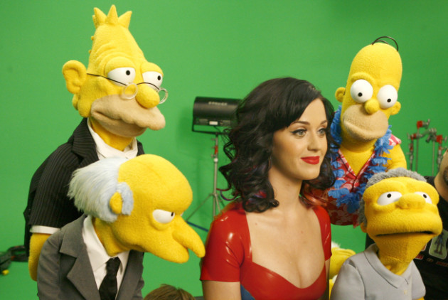 Katy Perry on The Simpsons