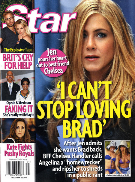 Jennifer Aniston Can't Let Go