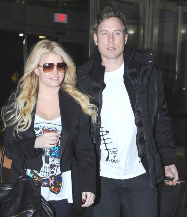 Jessica and Eric Simpson