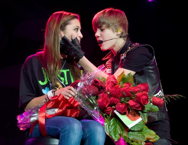 Bieber and a Fan